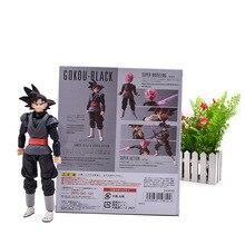 Anime Dragon Ball Suoer Zamasu Goku Black SHF Figuarts Super Saiyan  Movable PVC Action Figure Collection Model Doll DIY Toy