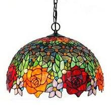 16 дюймов люстры лампа гостиная лампе предметы интерьера цвет розы, Бесплатная доставка