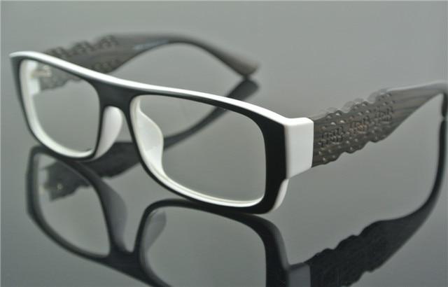 Vintage Full Rim SHURON\'s Style Eyeglass Frames Black+White Glasses ...