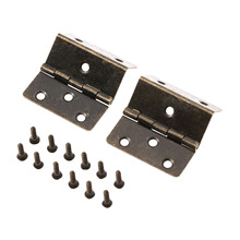 цена на 2Pcs Self Close Kitchen Cabinet Hinges Furniture Hardware Antique Bronze Folding Furniture Cupboard Door Hinge 44*45*22mm