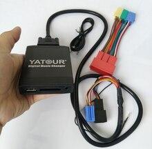 Yatour YTM06 VW8D + YT Audi20 Audi A2 A3 A4/S4 A6/S6 A8/S8 TT AllRoad ana ünite radyo dijital CD değiştirici USB MP3 çalar AUX SD