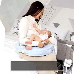Buona Quailty Allattamento Al Seno Cuscino Vicino Lato Disegno del Sacchetto Appena Nato Del Bambino di Cura Cuscino Regolabile Maternità Supporto lombare Cuscino
