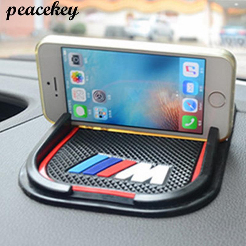 Car Anti-Slip Phone Pad Mat For Bmw E46 E39 E90 E36 E60 E34 E30 F30 F10 F15 E53 E38 X5 X3