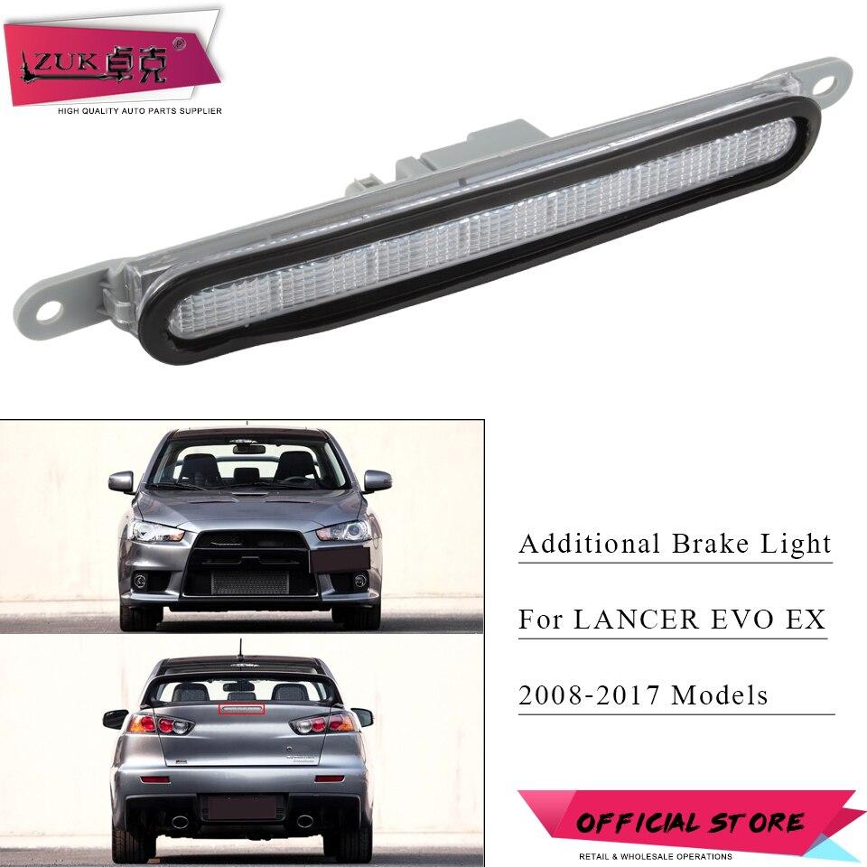 Mitsubishi Evo 2010 For Sale: ZUK Car Styling High Mounted Stop Lamp Additional Brake