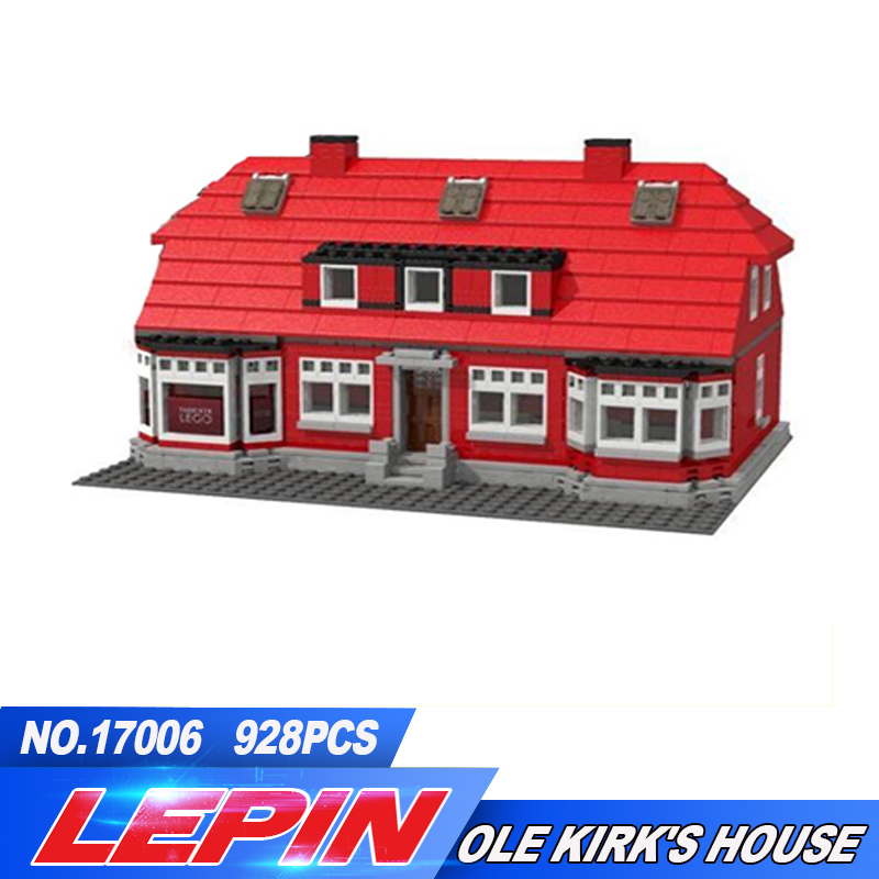 2017 New Lepin 17006 928pcs ole lirk's house Building Blocks Bricks Toys 4000007 lepin creator home 17006 928pcs the red house set model 4000007 building kits blocks bricks educational toys for children gifts