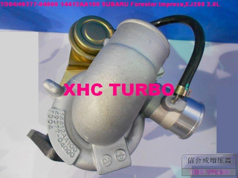 Nouveau TD04 49377-04000 14412AA100 Turbo turbochrager pour Forester Impreza, EJ200 2.0L