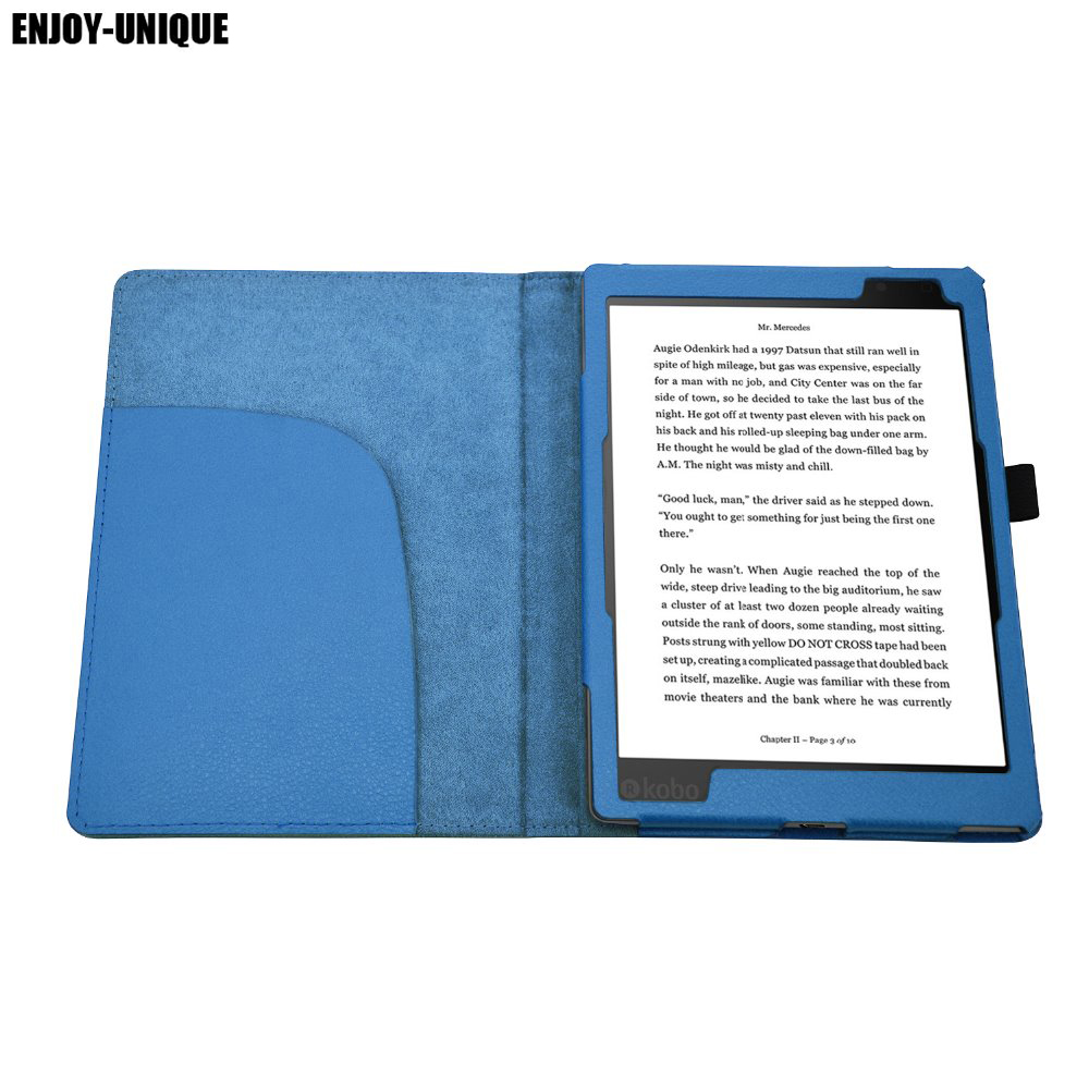 US $9 9  Faux Leather Case for KOBO Aura Edition 2 6inch 2016 eReader Smart  Cover Case for KOBO Aura 2nd-in Tablets & e-Books Case from Computer &