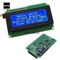 Display de Cristal Líquido Placa de circuito IIC/I2C/TWI 2004 204 20X4 Character Módulo Display LCD Para Arduino Série Azul 60mm X 99mm