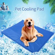 Dog Cooling Mat Pet Ice Pad Cat Mattress Cool Bed Cushion Summer Keep Gel For Dogs