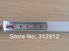 1m long 5630 led rigid bar light;U type,with milky PC cover;DC12V input;60leds per meter;30W