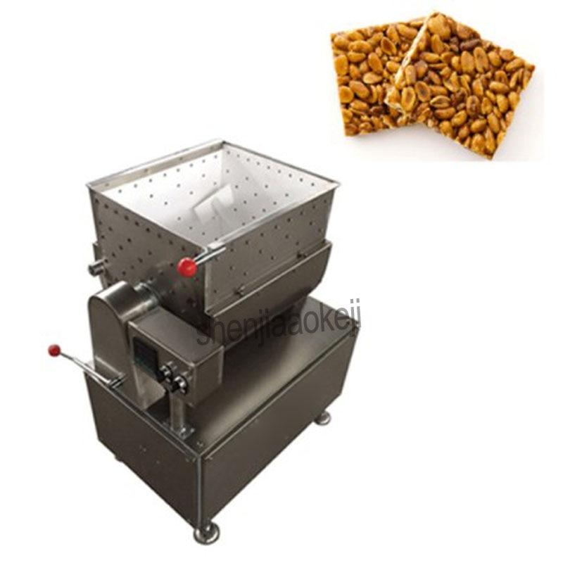 цена Peanut candy mixing machine,rice candy mixer,cereal bar mixing machine Mixing equipment 220V/380V mix 1.5kw, heating 1.5k 1PC онлайн в 2017 году