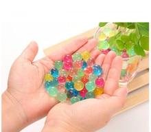 10000 teile / paket farbige orbeez weichen kristall wasser paintball gun kugel wachsen wasser perlen wachsen bälle wasserpistole spielzeug