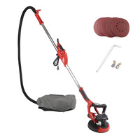 750W Car Self Priming Wall Grinding Tool Drywall Sander Ceiling Grinder Wall Sanding For Polishing Wood Metal