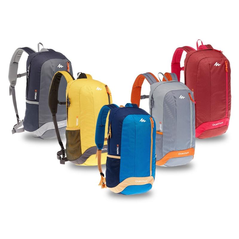 5da510aaa0ff6 Decathlon Leisure Travel Shoulder School Bag Junior High School College  Sports High Tide Backpack 20L QUECHUA ARPENAZ 20 8331244 en Mochilas de  Bolsos y ...