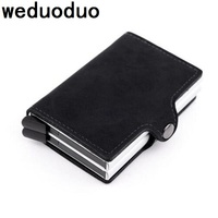 Weduoduo High Quality Men Credit Card Holders American European Style Fashion Card Wallet Occident Card Holder