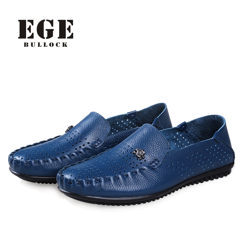 Men Loafers New Arrival Summer Breathable soft Genuine Leather Male Flats High Quality Handmade Causal Driving Shoes for Men summer causal shoes men loafers genuine leather moccasins men driving shoes high quality flats for man