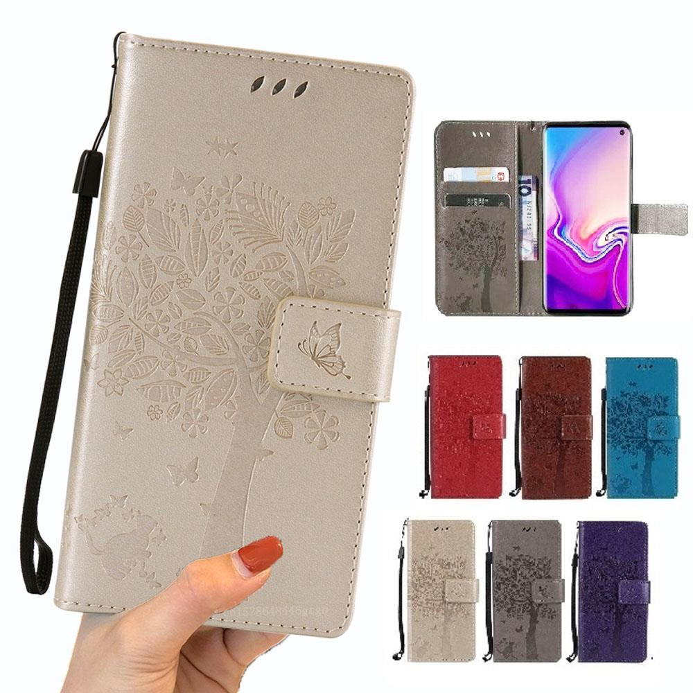 <font><b>Wallet</b></font> Note10 Pro Flip Cover Luxury Leather <font><b>Case</b></font> For <font><b>Samsung</b></font> Galaxy <font><b>S7</b></font> <font><b>edge</b></font> S8 S9 S10 E Plus Note 8 9 M10 M20 M40 Phone Coque image