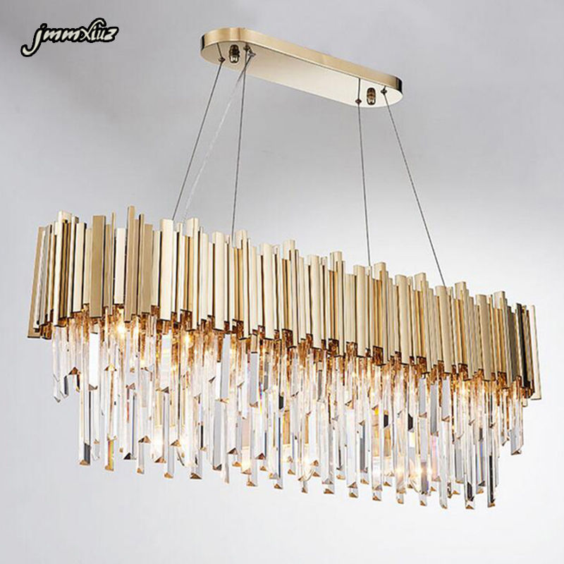 Jmmxiuz Luxury Crystal Chandelier Gold Shine Living Room Lamp Hotel Decoration Can Be Customized Size