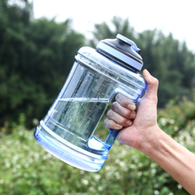 2.5L Large Capacity Plastic Water Bottle Leakproof For Drinking Camp Drinker Hiking Tumbler Outdoors Acitivity Good