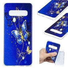 Unicorn Case Voor Samsung Galaxy S10 Gevallen S9 S8 Plus S10E Cover Ultra dunne soft TPU Silicon Cartoon Coque