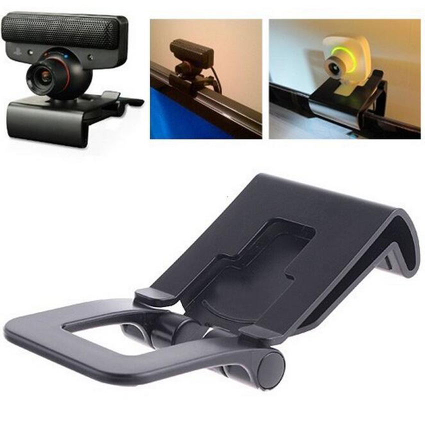 1pcs TV Clip Mount Holder Stand For Sony Playstation 3 for Sony PS3 Move Controller Eye Camera Games