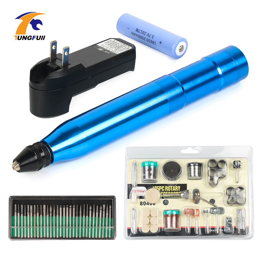 Cordless Drill Portable Small Electric Mill Electric Drill Charge Electric Engraving Pen Drilling Sanding Polishing
