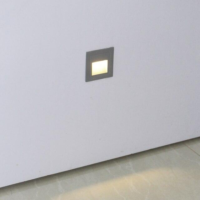Outdoor muur trap verlichting, waterdicht, verzonken gemonteerd led ...