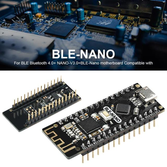 Für BLE Bluetooth 4,0 + NANO V3.0 = BLE Nano Motherboard Kompatibel Mit Für BLE NANO Für Arduino NANO V3.0 Integrierte Motherboard-in null aus Handys & Telekommunikation bei