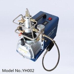 Image 2 - 4500PSI 30mpa 300bar yong heng sprężarka pompa pcp sprężarka powietrza elektryczna pompa powietrza do napełniania gazem zbiornika 110V 220V