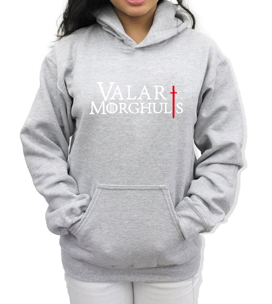 VALAR MORGHULIS KHALESSI Fashion Print Hoody For Women ...