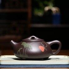 Handmade Yixing Zisha Teapot Kung Fu Tea Pot Purple Clay Kettle With Gift Box