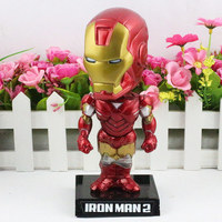 O Ataque Ovo Homem De Ferro 2 Ironman Mark VI Modelos Figura de Ação Brinquedos Clássico Super Herói Coleção Toy
