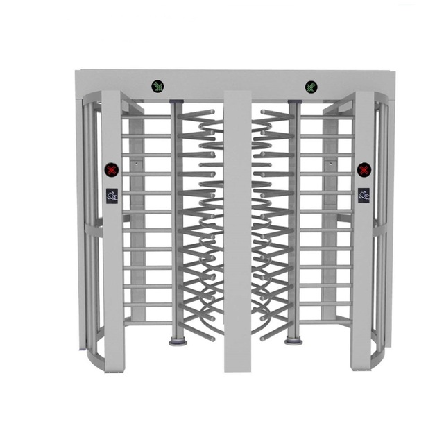 automatic access control full height turnstile gate RFID biometric reader and CE certificate/torniquetes acceso