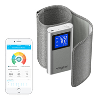 Koogeek FDA Approved Smart Upper Arm Blood Pressure Monitor Heart Rate Detection for iOS Android Automatic Rechargeable Home Use