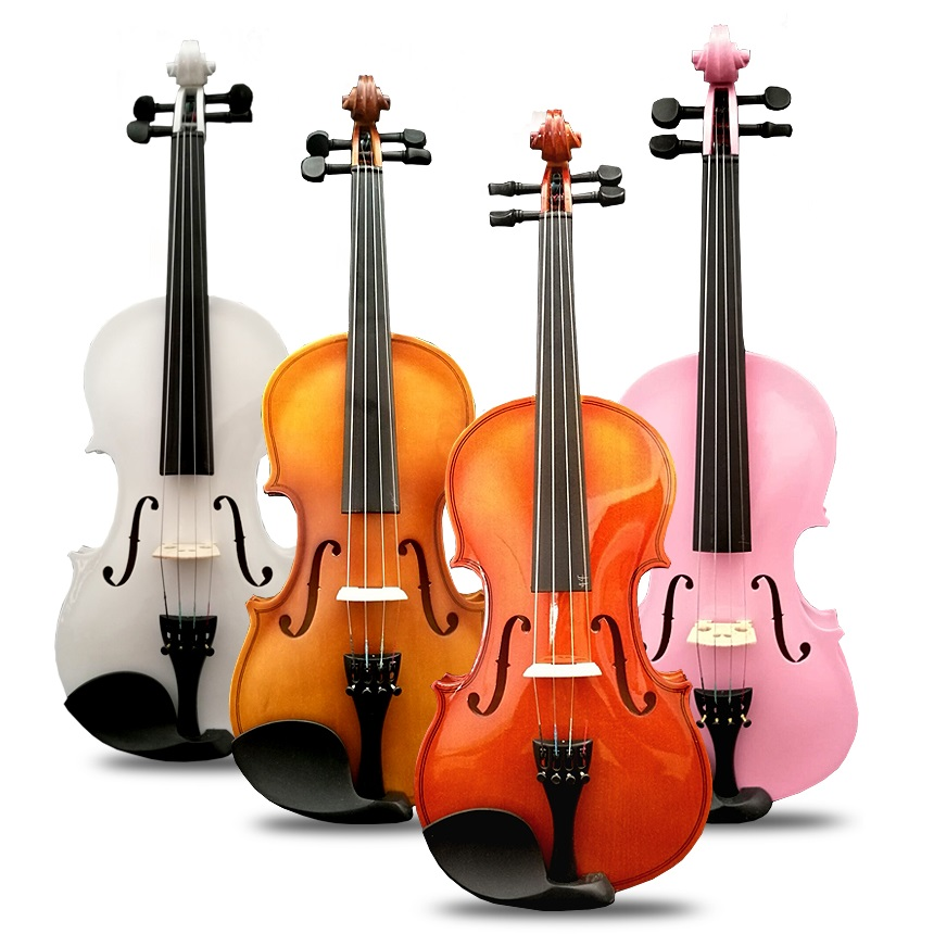 Entry-level practice recommend adult violin child's beginner violin instrument bright matte practice solid violin student play image