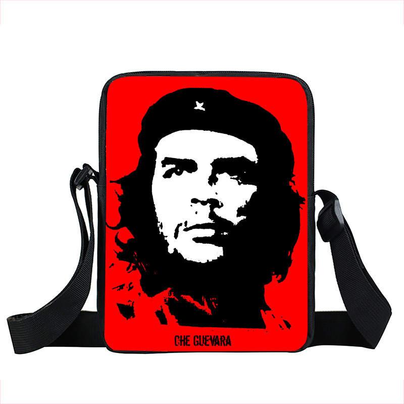 hero Che Guevara handsBag Children Mini Messenger Bag El Che Shoulder Bag For Children Men Women Crossbody Bags Bookbag