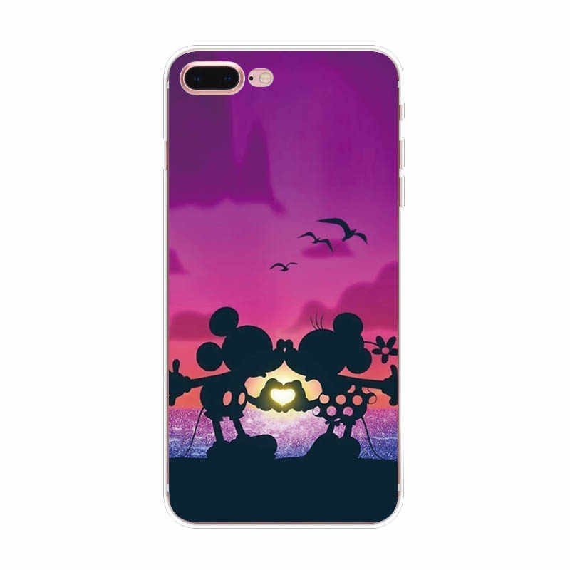 Чехол для Телефона iphone 5s 5 s se чехол TPU мультфильм мягкая задняя крышка для iphone 6s 6 s 7 8 Plus XR XS MAX сумки Funda
