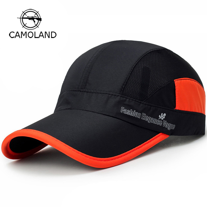 2018 Summer Breathable Mesh Quick-drying Men Women s Baseball Cap Outdoor  Sports Sun-protection 5441286a5581