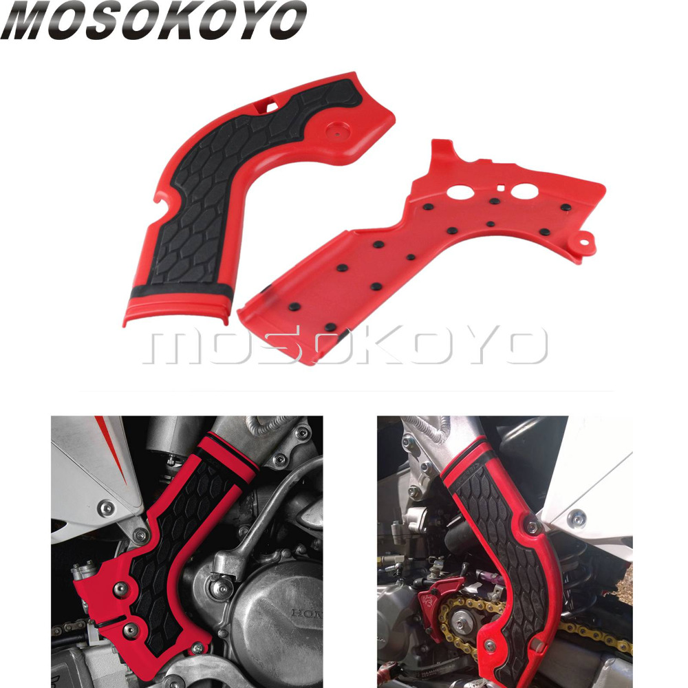 3 Color Motorcycles Frame Guard Motorcross for Honda CRF 250 450 R 2013-2016 CRF X Bikes Frame Protection