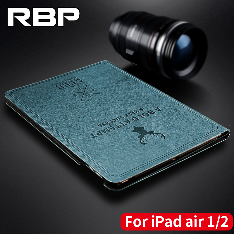 RBP for iPad air 2 case cover All-inclusive ultra-thin case for iPad air 1 case Smart sleep wake for iPad 5 6 case 9.7 inch air all inclusive