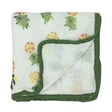 2 слоя Детские Одеяло s пеленать новорожденного Обёрточная бумага утолщаются хлопок муслин пеленать новорожденного пеленание детское постельное белье получения Одеяло