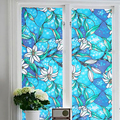 1PC DIY Window Film Glass Privacy  Decorative Cling Cover Stained Window Film Self Adhesive Film Banheiro