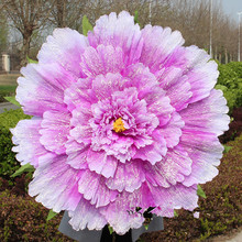Artificial Flowers peony flower 17cm 80cm dance show props Student stage performance dance performance