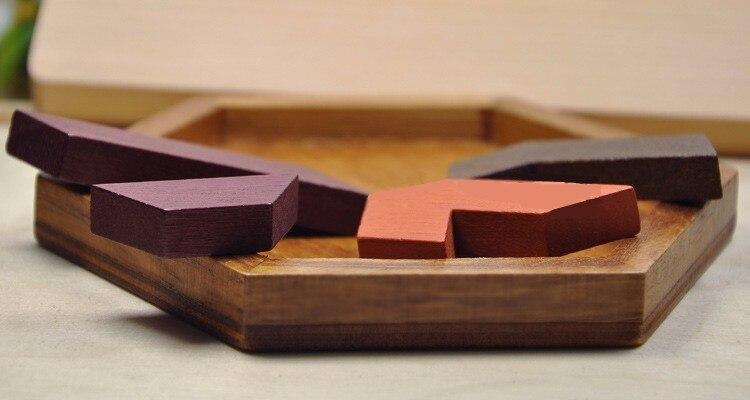 Niños Rompecabezas para niños Juguetes de madera Tangram - Juegos y rompecabezas - foto 4