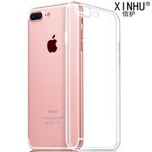 Для apple iphone 6s случаях iphone 7 case 6 новый ультра-тонкий Прозрачный ТПУ мягкая оболочка прозрачная 100% телефон защитный крышка