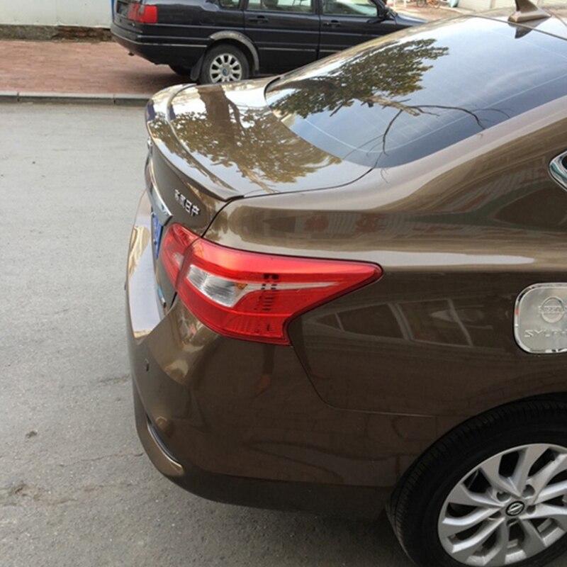 Для Nissan Sentra спойлер 2012 2013 2014 2015 авто хвост крыло