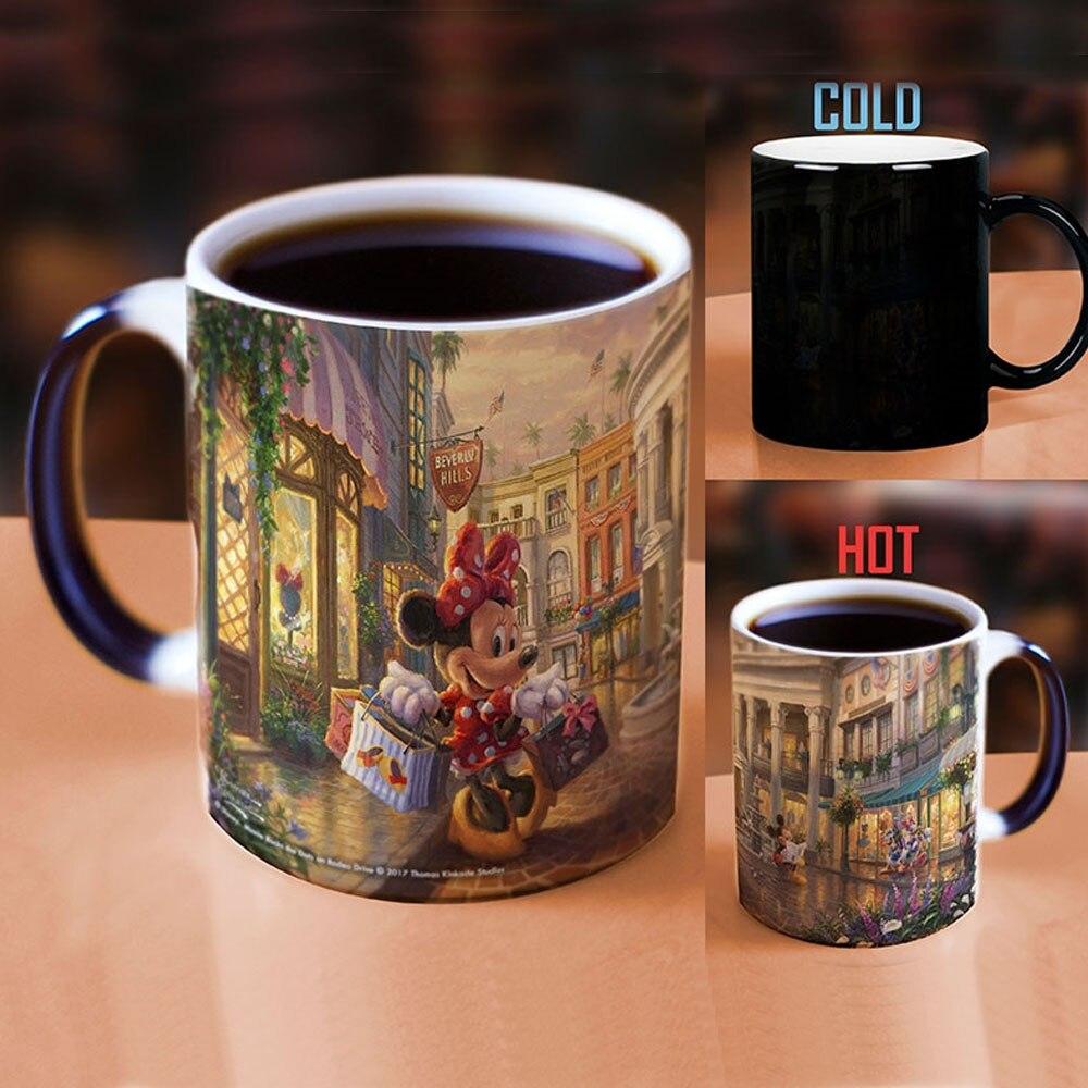 DISNEY ALADDIN JASMINE LOVE MAGIC COLOR CHANGING COFFEE MUG CHRISTMAS GIFT