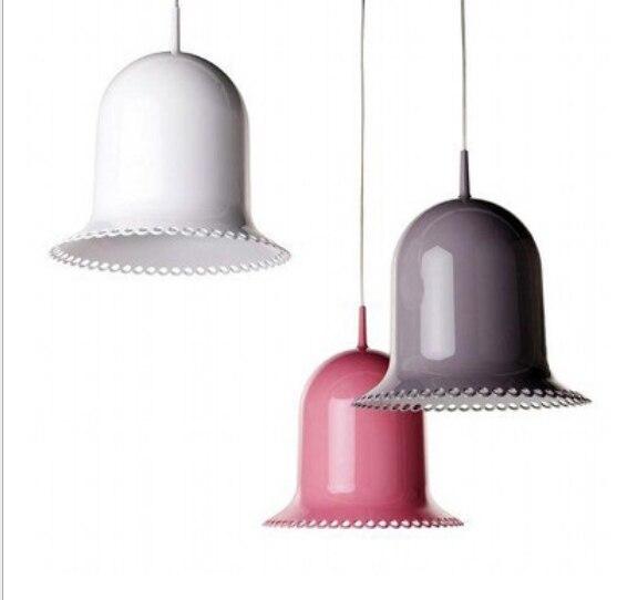 Moderní železné přívěsek světla princezna růžový klobouk - Vnitřní osvětlení