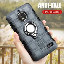 Case For Motorola Moto E4 Plus 5.5 Silicone Phone Shockproof Cover Europe Versions Luxury Armor