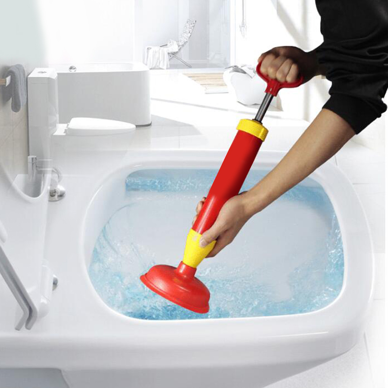 Handle Powerful Toilet Dredge Suction Plunger Dredger